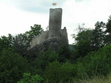 fotka okolí Malé Skály - zřícenina hradu Frýdštejn